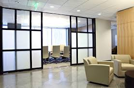 commercial office glass privacy walls and rooms
