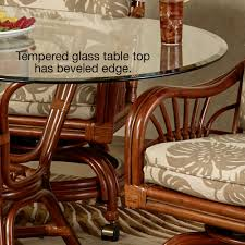leikela round dining table with caster chairs round set of five