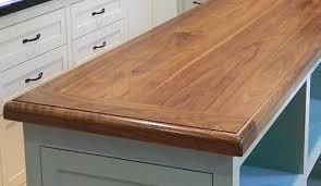 wood countertop island