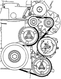 2001 volkswagen gti serpentine belt routing and timing belt diagrams repair guides engine mechanical components accessory drive belts 2001 volkswagen gti serpentine belt routing and timing belt diagrams