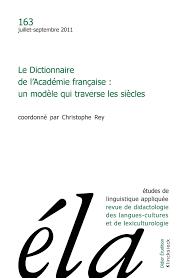 modernité et modernisation du dictionnaire de l académie française quelles transformations de la huitième à la neuvième édition cairn info