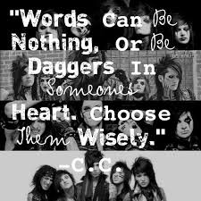 Christian Coma Quotes Best of Christian Coma Quotes Black Veil Brides Fan Pinterest