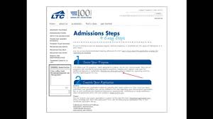 how to complete your ltc admissions application online how to complete your ltc admissions application online
