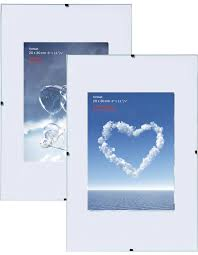 clip frame 10 5x15 cm to 70x100 cm normal anti reflective and acrylic