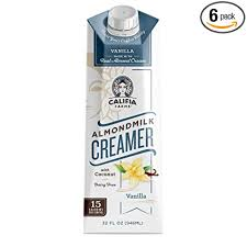 Observant jews could now have a dessert coffee after a steak meal. Califia Farms Vanilla Almond Milk Coffee Creamer With Coconut Cream 32 Oz Pack Of 6 Non Dairy Plant Based Vegan Non Gmo Shelf Stable Amazon Com Grocery Gourmet Food