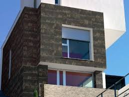 exterior with exterior wall designs
