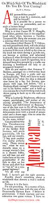 road rage essay s road rage magazine article road rage  1920s road rage the american magazine 1927