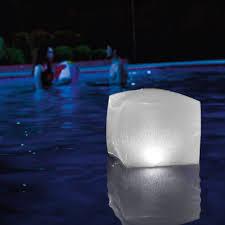 Intex Inflatable Floating Illuminating Multi Color Pool Led