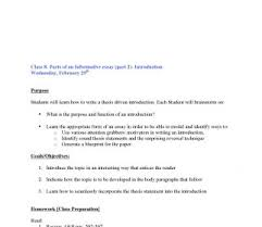 Thesis Statement Examples For Essays Informative Essay Thesis Statement Examples Topic Sentence