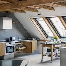 apartment kitchens designs. 17 Captivating Attic Kitchen Designs Apartment Kitchens A