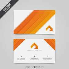 Architecture Business Card Vector Free Download