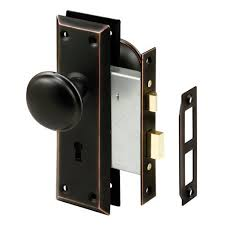 prime line e 2495 mortise ke lock set with clic bronze perfect for replacing broken antique lock setore fits 1 3 8 in 1 3 4 in