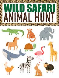 See more ideas about animal print crafts, safari theme, leopard print cake. Fun Animal Scavenger Hunt Ideas Guaranteed To Make Kids Smile