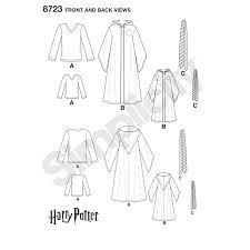 Harry Potter Robe Pattern Simplicity