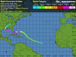 Major Hurricane Andrew Weather Underground