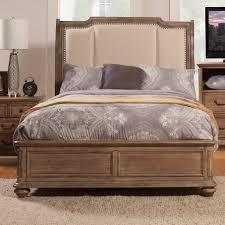Melbourne Bedroom Furniture Alpine Furniture Melbourne Upholstered Panel Bed Reviews Wayfair