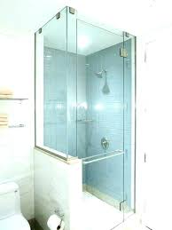 square shower stall bath mat glass