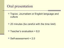 oral presentations directions  8 oral presentation