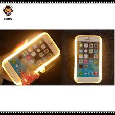 Ốp Điện Thoại Tpu Trong Suốt Chống Sốc Có Đèn Led Báo Cuộc Gọi Cho Iphone 11  Pro Max X Xr Xs Max 5 6 7 8 Plus tại Nước ngoài