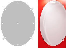 bathroom mirror mounting brackets. Installing Frameless Mirror Clips Diy House Help Bathroom Mounting Brackets 2