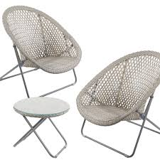 wicker folding chairs. Folding Rattan Lounge Chair And Table Set Outdoor Stratford Wicker Chairs