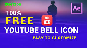 Youtube Icon Template Youtube Bell Icon Intro Template Download After Effects Youtube Subscribe Template