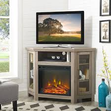 winmoor home 50 fireplace tv stand grey