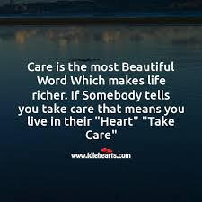 Image result for caring about you word pic