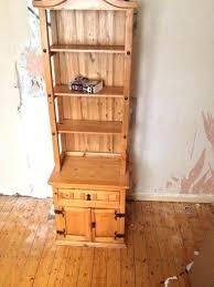 mexican pine bookshelf pine bookshelf and drawer mexican pine shelves