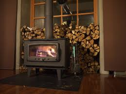 Lighting A Wood Stove For The First Time How To Use A Wood Stove Damper Home Guides Sf Gate