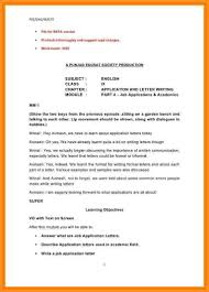 9+ format of writing letters   appication letter