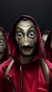 Money Heist Costume Dali Mask 4K ...