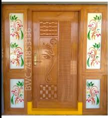House Main Door Design With Flowers Pin By Jogi Ramarao On Ramarao Jogi Front Door Design Wood