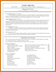 9 Pediatric Nurse Resume Sample Address Example