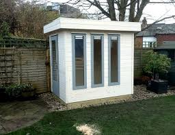 home office in the garden. Mini Garden Office Home In The