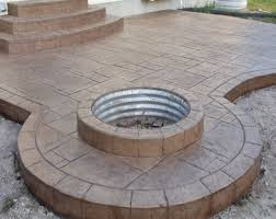 stamped concrete patio. Stamped Concrete Patios MI | Detroit Decorative Patio