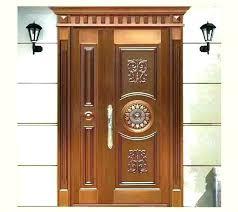 wood door design kerala double teak wood door designs kerala
