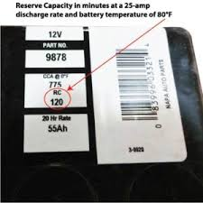 Car Battery Reserve Capacity Ricks Free Auto Repair Advice