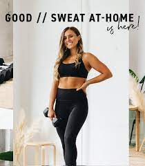 GOOD // SWEAT At-Home 6-Week Training Guide Is Here! - Rachael's Good Eats