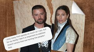 Justin timberlake's wife is jessica biel. Justin Timberlake Apologises To Jessica Biel For Lapse In Judgement During Capital
