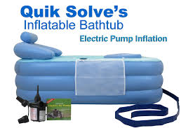 inflatable bathtub with electric pump setup instructions you