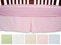heavenly soft crib dust ruffle crib skirt all colors