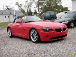 Coupe Series 2004 bmw roadster : 2004 Bright Red BMW Z4 2.5i Roadster #31332168   GTCarLot.com ...