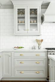 elegant cabinets lighting kitchen. Cabinet Lighting: Elegant Light Grey Cabinets In Kitchen Wall Lighting C