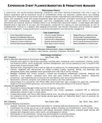Event Planner Resume Sample Keralapscgov Enchanting Resume Event Planning