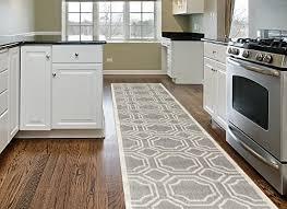 rug modern geometric area rug runner 2 x 7 2 gray