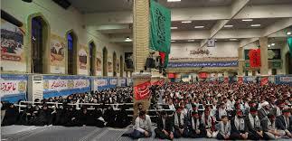 Image result for رهبر انقلاب در دیدار جمعی از جوانان و نوجوانان عازم اردوهای راهیان نور