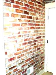 indoor brick wall faux stone panels fake siding paneling sealer reclaimed bricks in sealing brickwork home