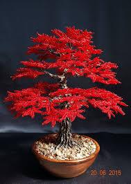 Hand Made   Осенние деревья, Бисероплетение и <b>Бонсай</b>