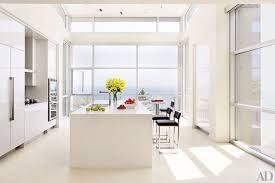contemporary kitchen design. Bright And White Contemporary Kitchen Design K